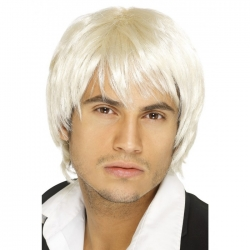 Blonde Boy Band Wig