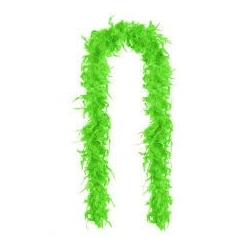 Boa Feather Lime Green