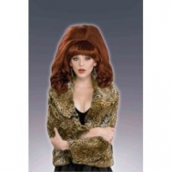 80's Big Red Wig