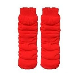 Leg Warmers Red