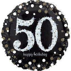 50th Birthday Foil 45cm
