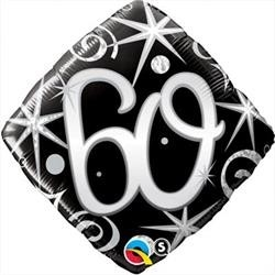 60th Birthday Foil 45cm