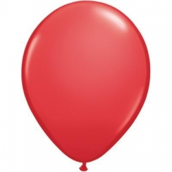 Qualatex Balloons Red