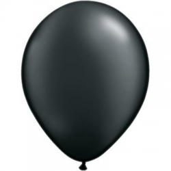 Qualatex Balloons Pearl Onyx Black