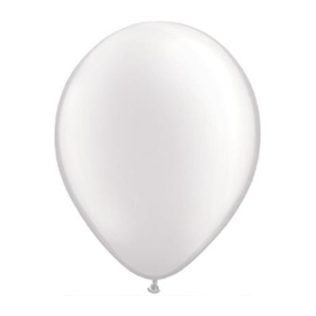 Qualatex Balloons Pearl White