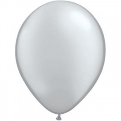 Qualatex Balloons Silver