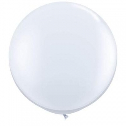 Qualatex Balloons White