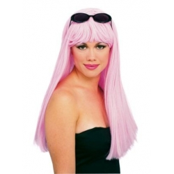 Pink Glamour Wig
