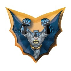 Batman Cape Foil Balloon
