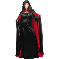 Cape With Hood Reversible