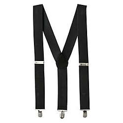 Suspenders Black