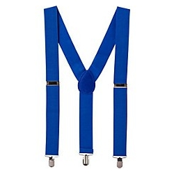 Suspenders Blue