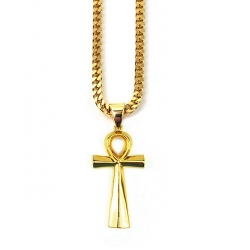 Neckalce With ANKH Cross Pendant