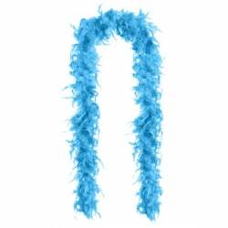 Boa Feather Light Blue