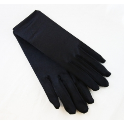 Gloves Black Wrist
