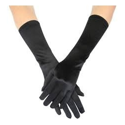 Black Gloves Elbow