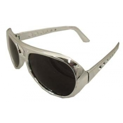 Elvis Glasses Silver