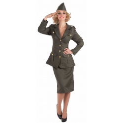 WWII Army Gal Costume