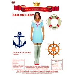 Sailor Lady Costume