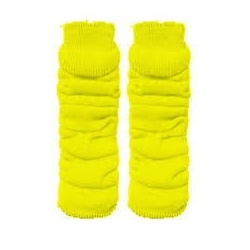 Leg Warmers Yellow