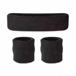 Head and Wristband Set Black