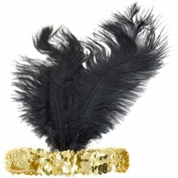 1920's Flapper Gold Headband