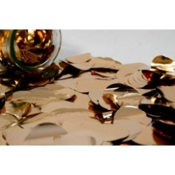 Metallic Rose Gold Confetti 3.8cm