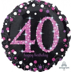 40th Birthday Foil 45cm