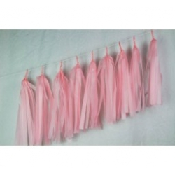 Balloon Tassels Light Pink
