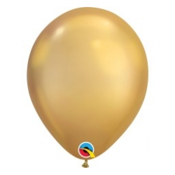 Qualatex Balloons Chrome Gold