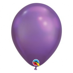 Qualatex Balloons Chrome Purple