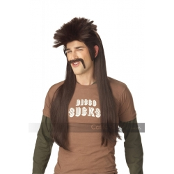 Mississippi Mud Flap Brown Wig