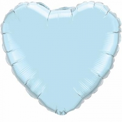 Light Blue Heart 45cm