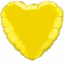 Yellow Heart 45cm