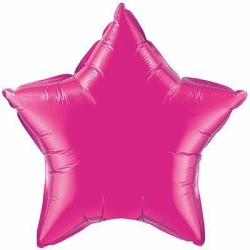 Hot Pink Star 45cm