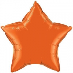 Orange Star 45cm