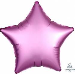 Satin Flamingo Star 45cm