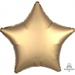 Satin Gold Star 45cm