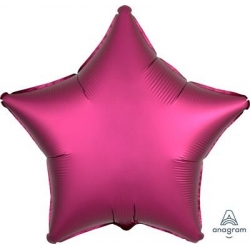 Satin Pomegranate Star 45cm