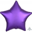 Satin Purple Star 45cm