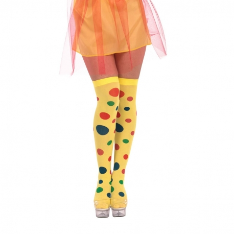 Clown Stockings - Polka Dot