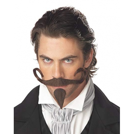 The Gambler Moustache & Chin Patch