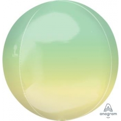 Ombre Yellow & Green