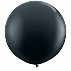 Qualatex Balloons Onyx Black