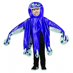 Octopus Costume 4-6 YO