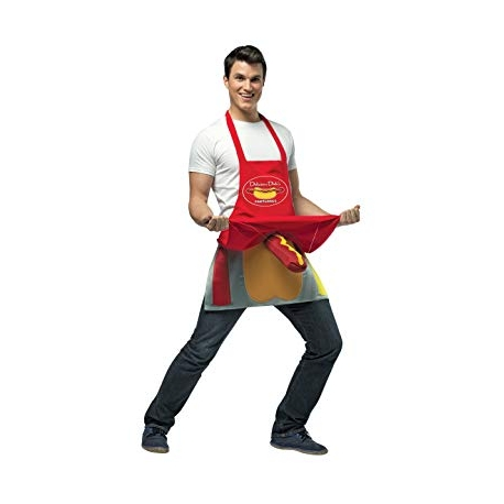 Hotdog Vendor Costume