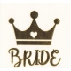 Bride to Be Gold Tattoo