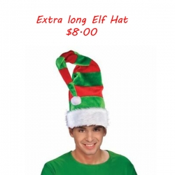 Extra Long Elf Hat