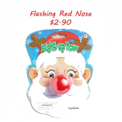 Flashing Red Nose