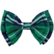 Bow Tie Sequin Green